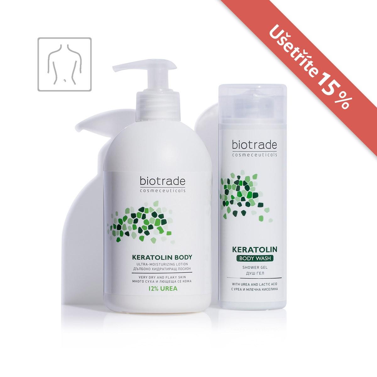 Biotrade Cosmeceuticals Hydratační rutina pro suchou a atopickou pokožku těla