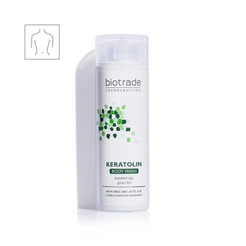 Keratolin Body Wash Biotrade hydratační tělový mycí gel s 5% ureou