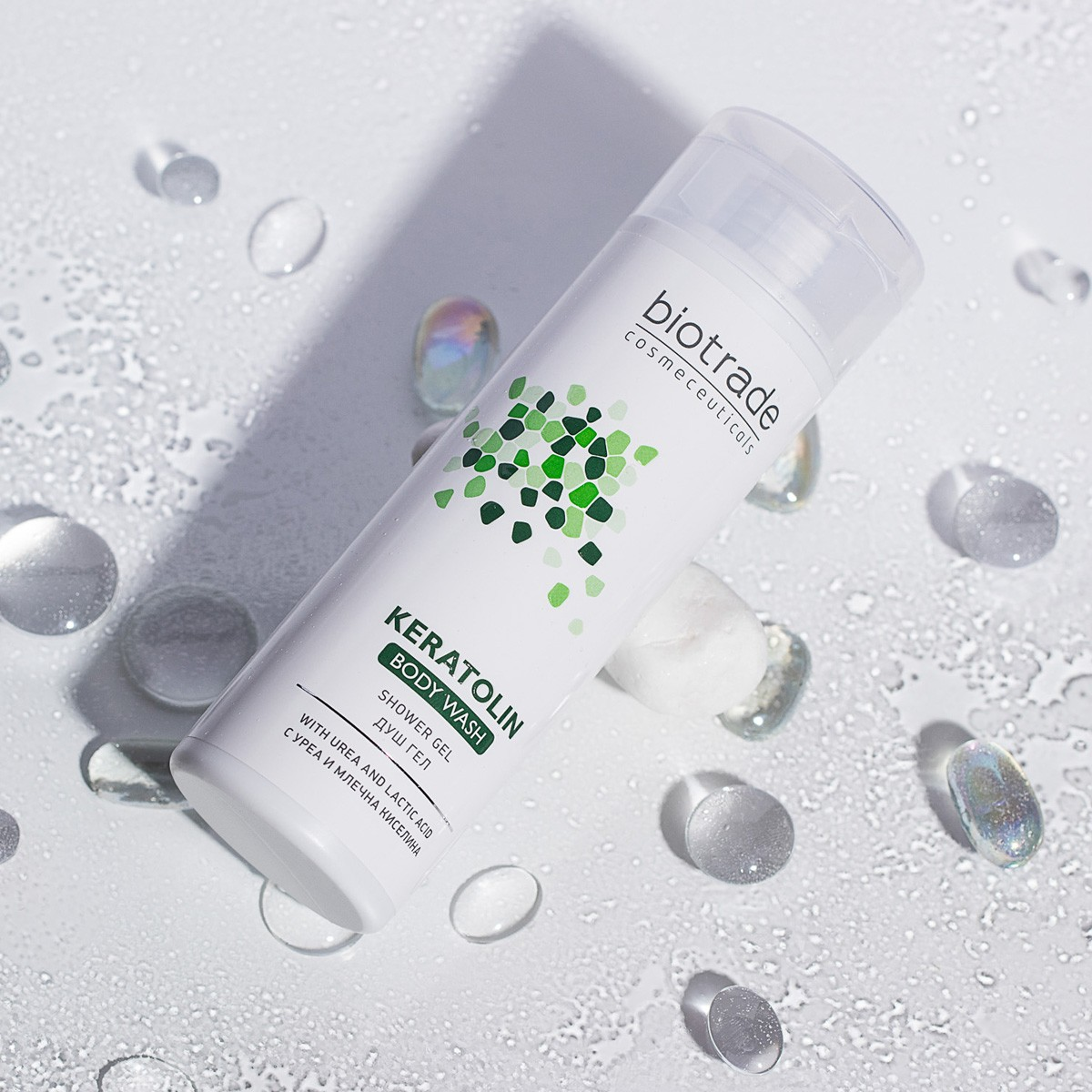 Hydratační sprchový mycí gel na tělo Keratolin