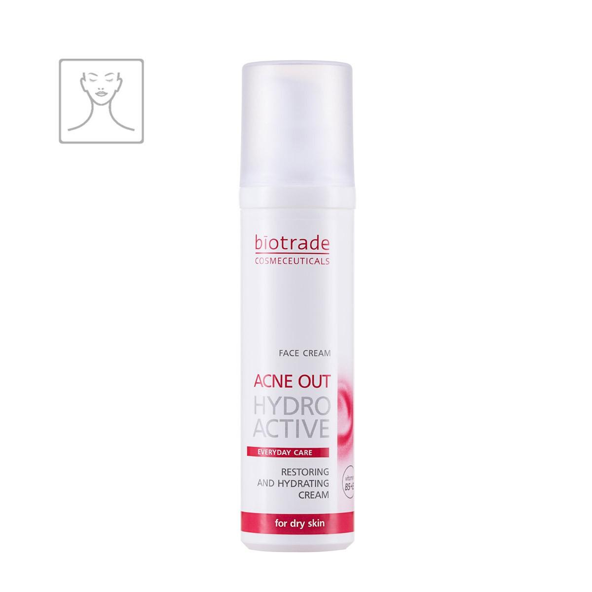 Acne Out Hydro Active Cream Biotrade obnovující a hydratační pleťový krém s vit. E