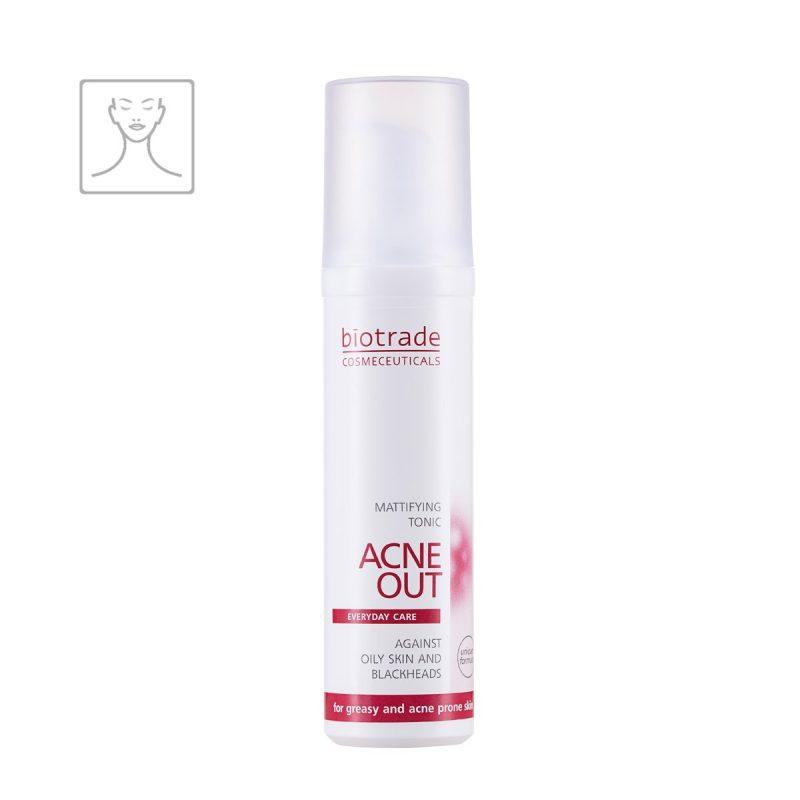 Acne Out Mattifying Tonic Biotrade matující tonikum antibakteriální