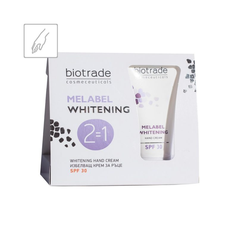 Melabel Whitening Hand Cream Biotrade bělicí krém na ruce SPF 30+