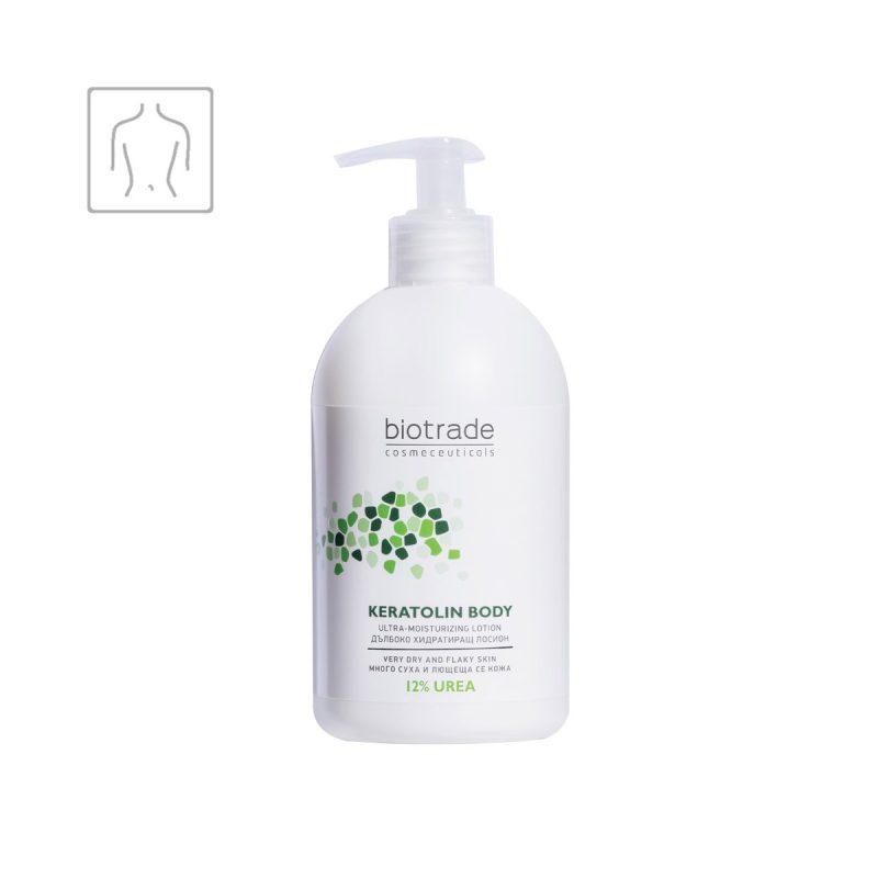 Keratolin Body Ultra Moisturizing Lotion Biotrade ultra hydratační tělové mléko s 12% ureou
