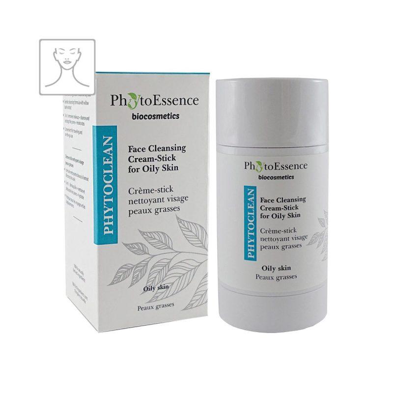 Face Cleansing Cream-Stick for Oily Skin PhytoEssence čisticí krémová tyčinka pro mastnou pokožku