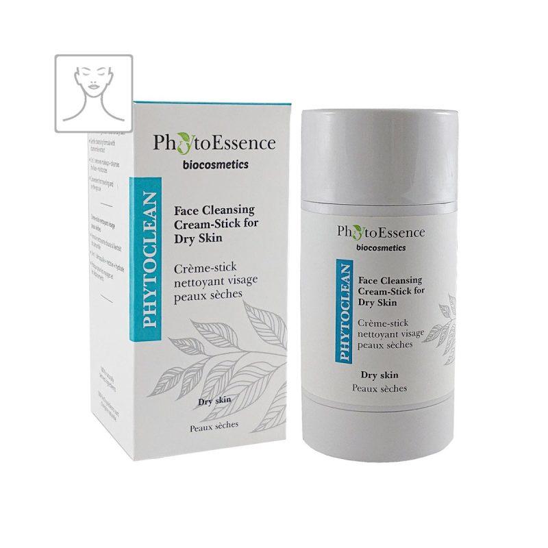 Face Cleansing Cream-Stick for Dry Skin PhytoEssence čisticí krémová tyčinka pro suchou pokožku