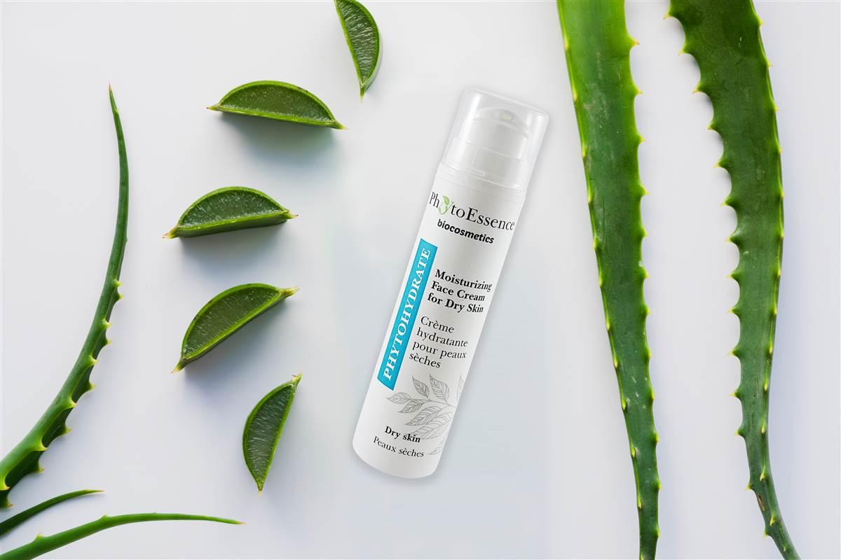 Hydratační krém na obličej pro suchou pokožku