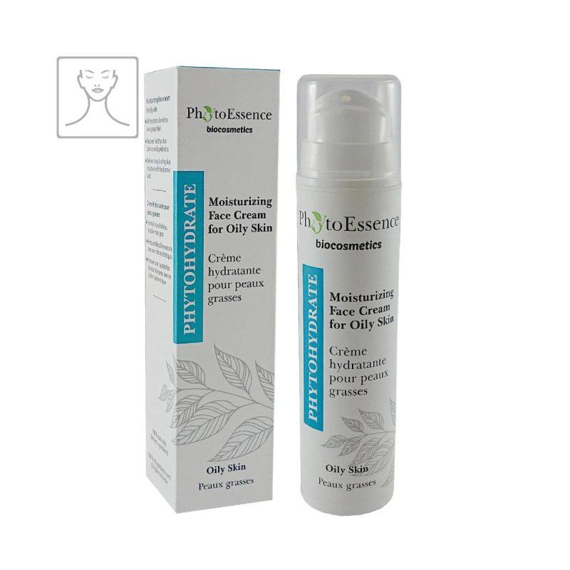 Moisturizing Face Cream for Oily Skin PhytoEssence hydratační pleťový krém pro mastnou pleť