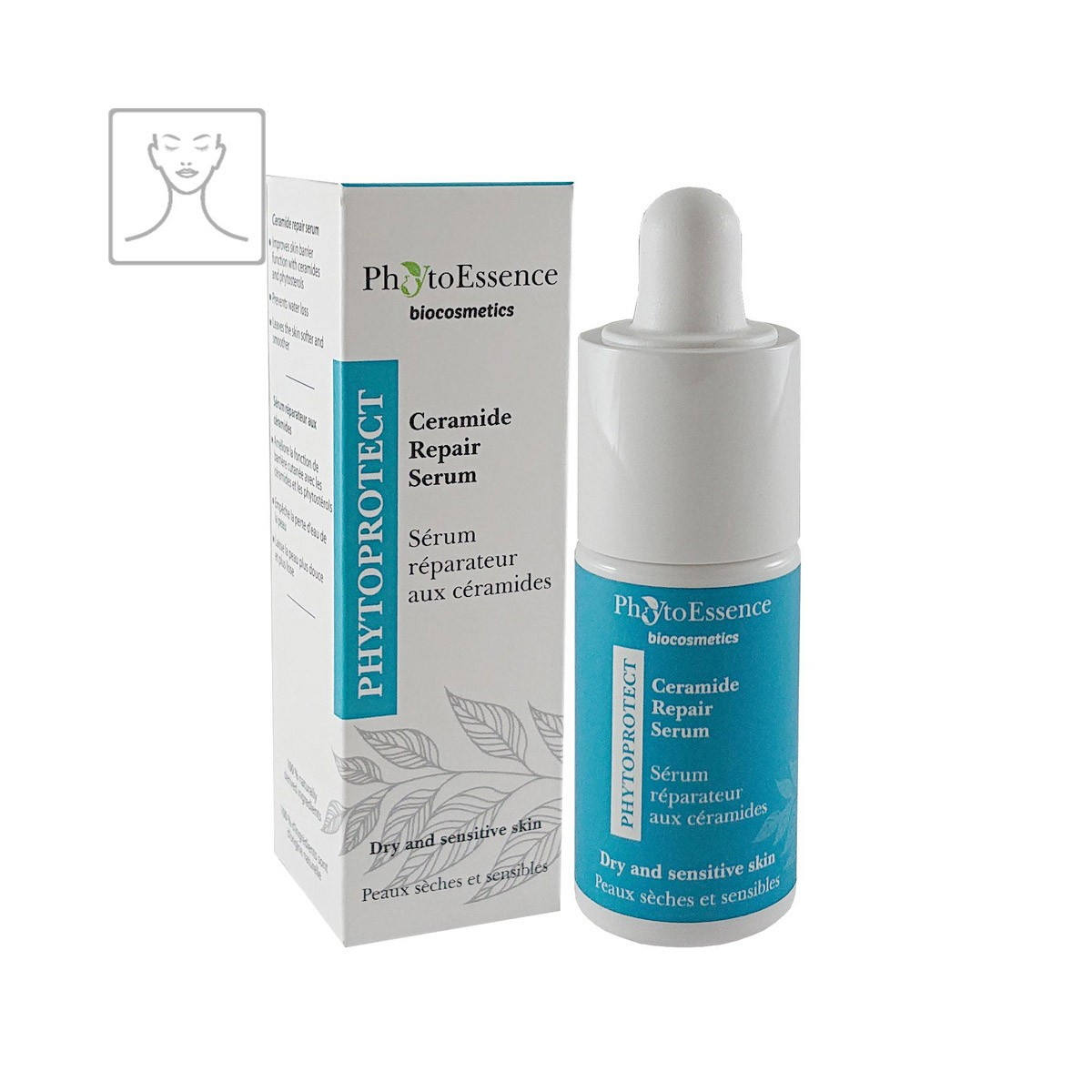 Ceramide Repair Serum PhytoEssence ceramidové opravné pleťové sérum s bisabololem a heřmánkem