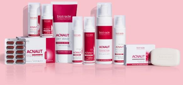 PepeDerme biotrade acnaut acne out